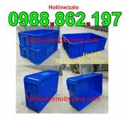 Thùng nhựa HS 017,thùng nhựa đặc HS017,sóng nhựa bít HS017,sóng nhựa bít,són