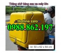 Thùng vận chuyển rác thải y tế, thùng chở chất thải lây nhiễm, thùng chở chất th