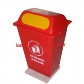 Cung cấp thùng rác 60l, thùng rác Composite 60l, thùng rác công cộng giá rẻ