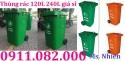 Bán thùng rác 660 lít giá rẻ đồng nai- thùng rác 120 lít 240 lít màu xanh, nắp k