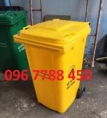 Bán thùng rác nhựa hdpe 120 lít giá sĩ toàn quốc.