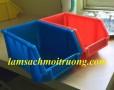 Kệ dụng cụ A6, khay đựng linh kiện, hộp nhựa đặc, sóng nhựa đặc, hộp đựng ốc vít