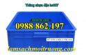 Thùng nhựa đặc Hs007, thùng nhựa hs007 giá rẻ hà nội, thùng nhựa, thùng chứa HS