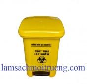 Thùng rác y tế 20 lít, thùng rác y tế đạp chân, thùng rác 20 lít, thùng rác nhựa
