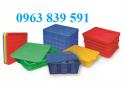 Cung cấp rổ nhựa công nghiệp có bánh xe di chuyển tốt 0963 839 591