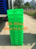 Sóng nhựa 1 tấc,khay nhựa hở đựng hàng hóa,rổ nhựa 10cm