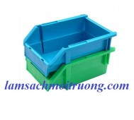 Cung cấp khay nhựa xếp tầng, khay đựng linh kiện, khay đựng đồ cơ khí