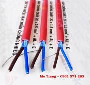Cáp chống cháy chống nhiễu 2 x 1.5 mm2, Cáp tín hiệu chống cháy Altek Kabel