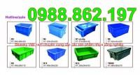 Hộp nhựa b8, thùng nhựa đặc b8, khay nhựa b8, thùng nhựa đặc, sóng nhựa bít, thù