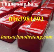 Cung cấp thùng đựng đồ khô, thùng ship hàng, thùng giao hàng sau xe máy