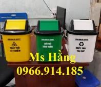 Thùng rác y tế nắp lật 10 lít,thùng rác y tế 10 lít giá rẻ