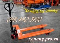 Giảm giá cực sốc xe nâng tay 2 tấn call 0984423150 – Huyền