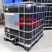 Tank nhựa ibc 1000 lít,bồn nhựa đựng hóa chất cũ 1000 lít