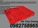 Cung cấp Pallet nhựa, pallet 1 mặt, pallet lót sàn, pallet kê hàng giá rẻ