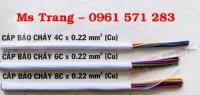 Cáp báo cháy 0.22 mm2 - Cáp tín hiệu 0.22 mm2