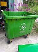 Xe thu gom rác công cộng 660l,xe chở rác y tế 450l tại tphcm