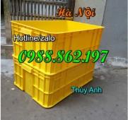 Sóng nhựa bít HS017, sóng nhựa bít, sóng nhựa bít giá rẻ, thùng nhựa đặc giá rẻ,