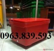 Bán thùng ướp đá, thùng đá giữ lạnh mẫu lớn - Call: 0963.839.593 Loan