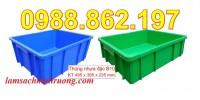 Hộp nhựa b10,thùng nhựa đặc,thùng nhựa công nghiệp,thùng nhựa cơ khi,khay đự