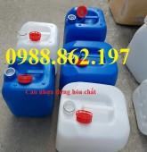 Can nhựa, can đựng hóa chất, can đựng xăng dầu, can nhựa 20L, can nhựa 30L, can