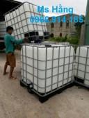 Thùng nhựa nuôi cá 1000 lít,thùng nhựa ibc 1 khối đựng hóa chất