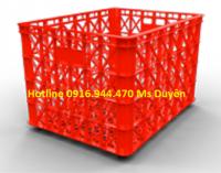 Sóng nhựa 8 bánh xe, rổ nhựa công nghiệp, rổ nhựa may mặc call 0916.944.470