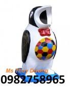 Thùng rác hình con thú, thùng rác công cộng, thùng rác nhựa Composite giá rẻ