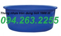 Can nhựa công nghiệp, can tròn, can đựng hóa chất, can 20l giá rẻ