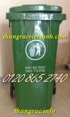 Bán thùng rác 120L, thùng đựng rác 120 lít, thùng rác 120L giá rẻ