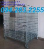 0942632255 - Cung cấp lồng trữ hàng, lồng thép đựng hàng, xe chuyển hàng hóa