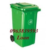 Thùng rác bệnh viện, thùng rác trường học, thùng đựng rác 240L.