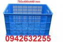 Sóng nhựa HS012, sọt nhựa HS011, sóng nhựa hở, rổ nhựa công nghiệp, sóng cá