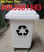 Thùng rác y tế 15 lít, thùng rác bệnh viện, thùng rác y tế đạp chân