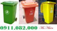 Cung cấp thùng rác 120 lít 240 lít giá rẻ tại Lai vung- đồng tháp