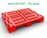 nhà cung cấp pallet nhựa ở hcm, nơi bán pallet nhựa kê hàng, pallet nhựa 1.1m