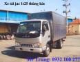 Xe tải jac 1t25. xe tải jac 2t5 chính hãng cam kết giá tốt nhất