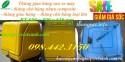 Bán thùng chở hàng, thùng giao hàng sau xe máy loại lớn giá rẻ call 0984423150