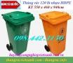 Giảm giá sốc thùng rác nhựa 120 lít call 0984423150 – Huyền
