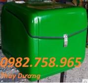 Bán thùng đựng thực phẩm, thùng chở hàng sau xe máy, thùng giao hàng