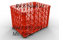 Bán rổ nhựa 8 bánh xe, rổ nhựa 26 bánh xe giá sỉ - 0963.839.593
