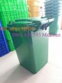 Thùng rác nhựa 60L - Thùng đựng rác gia đình TP. HCM - 0963.839.593