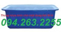 Thùng nhựa 700 lít, thùng dung tích lớn, thùng đựng hóa chất giá rẻ