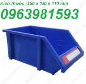 Sóng nhựa công nghiệp, khay đựng linh kiện, hộp đựng ốc vít giá rẻ