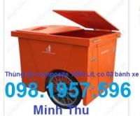 Thùng rác, xe rác, nơi bán thùng rác, thùng rác công cộng, xe đẩy rác,