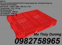 Cung cấp pallet dùng trong kho hàng, bãi chứa hàng, pallet nhựa giá rẻ