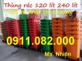 Nơi chuyên phân phối thùng rác 120 lít 240 lít 660 lít giá rẻ tại đồng tháp- Lh