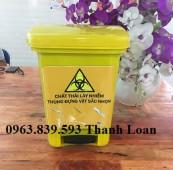Thùng rác đạp chân, thùng rác văn phòng chất lượng tốt