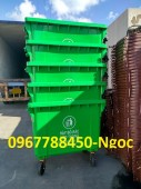 Nơi bán thùng rác nhựa hdpe 660 lít giá sĩ toàn quốc.