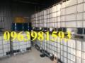 Cung cấp thùng chứa 1000l, bồn đựng hóa chất, bồn nhựa 1000 lít giá rẻ
