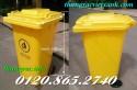 Bán thùng rác y tế, thùng rác 120L, thùng rác 240L, thùng rác chất thải nguy hại